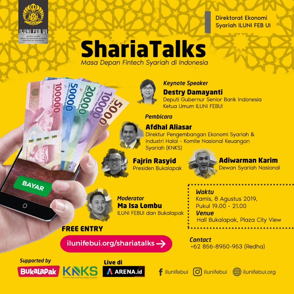 Shariatalks: Masa Depan Fintech Syariah di Indonesia