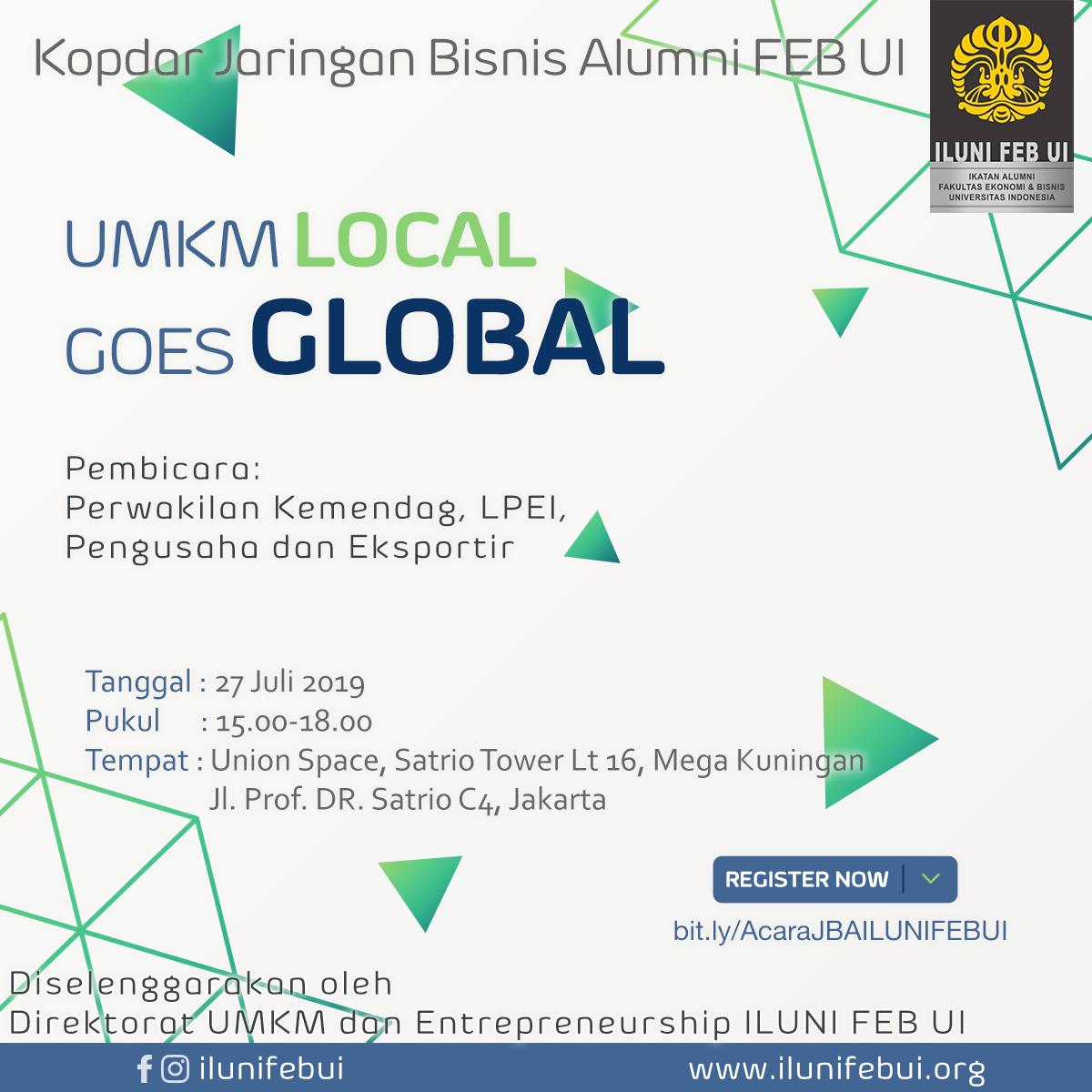 UMKM Local Goes Global