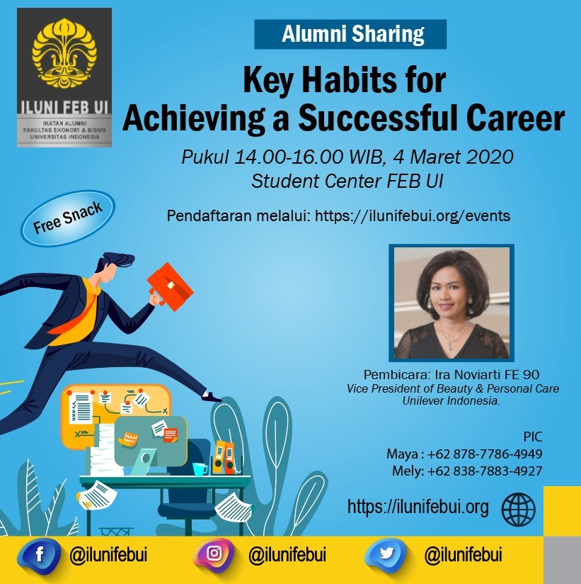 Alumni Sharing | Key Habits for Achieving a Successful Career